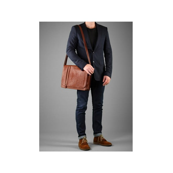 Męska torba Messenger Rory Nut Brown