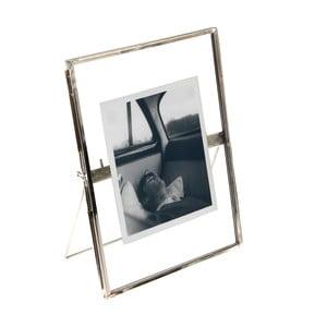Srebrna ramka na zdjęcia Rex London Brass, 18x13cm