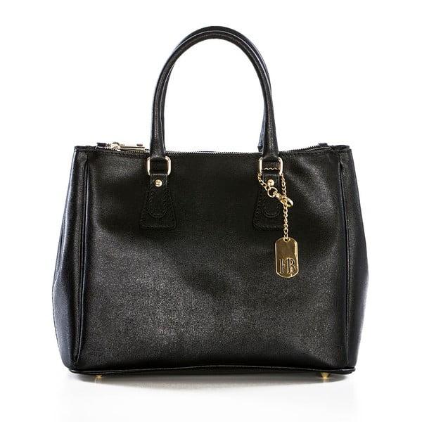 Skórzana torebka Ano Black