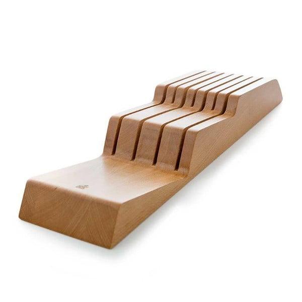 Drewniany uchwyt na noże do szuflady BK Cookware Skills
