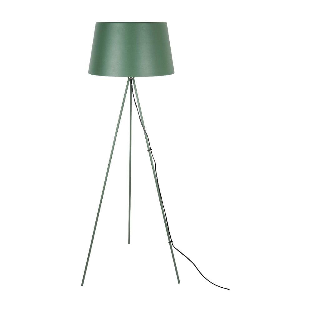Ciemnozielona lampa stojąca Leitmotiv Classy