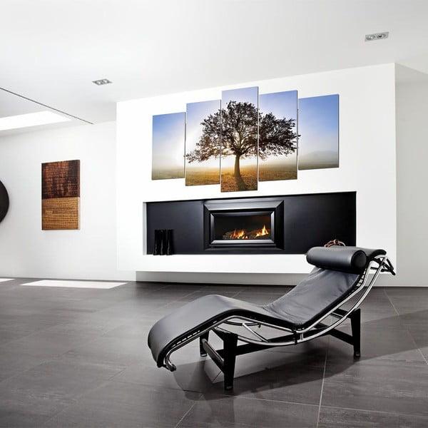 5-częściowy obraz Tree, 60x100 cm