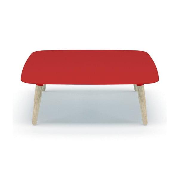 Czerwony stolik MEME Design Nord Quadro