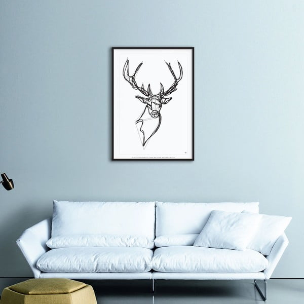 Plakat Royal Stag Deer