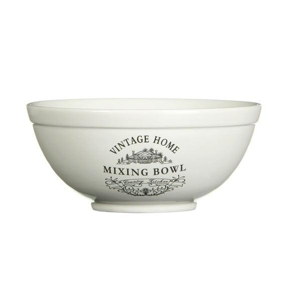 Kremowa miska Premier Housewares Vintage Home, 480 ml