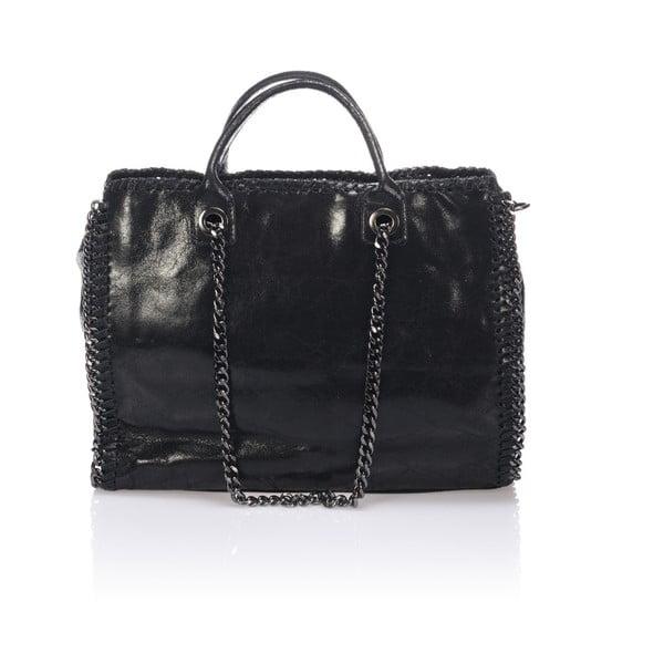 Skórzana torebka Markese 1169 Black