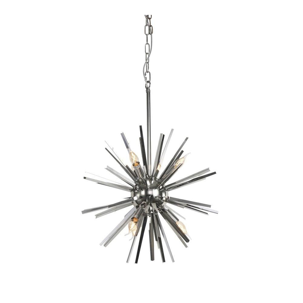 Lampa wisząca w kolorze srebra Artelore Funchal, Ø56cm