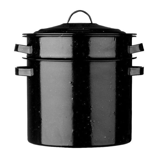 Garnek do gotowania makaronu Premier Housewares Black, 28 cm