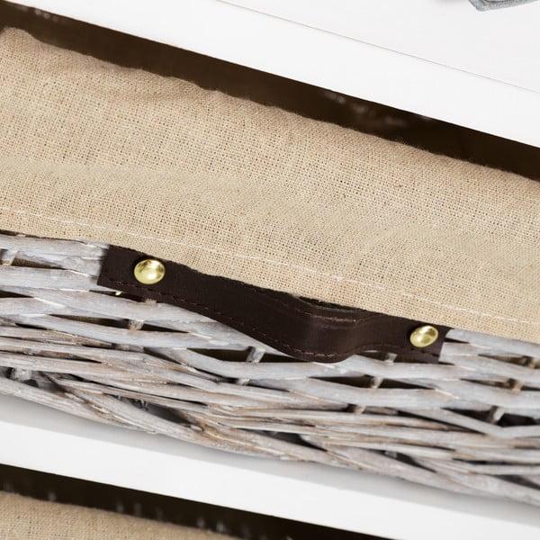 Szafka z koszami Nimbre, wys. 58 cm