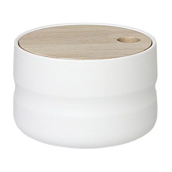 Pojemnik ceramiczny Wooden Cover Medium