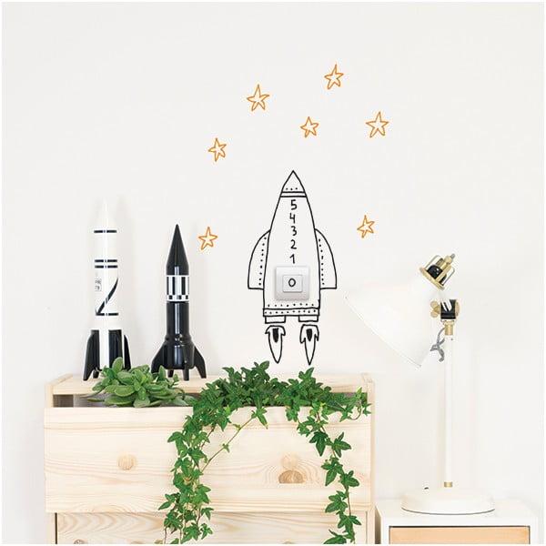 Naklejka dekoracyjna na ścianę Switch Rocket