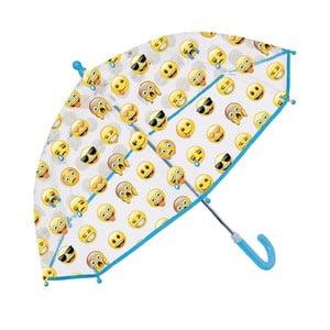 Parasol dziecięcy Perletti Emoji Blue