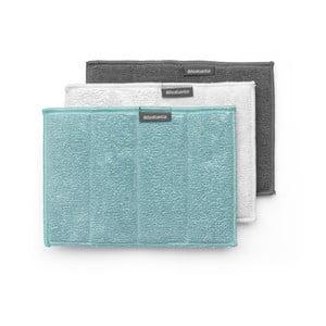Zestaw 3 ścierek z mikrowłókna Brabantia Clean