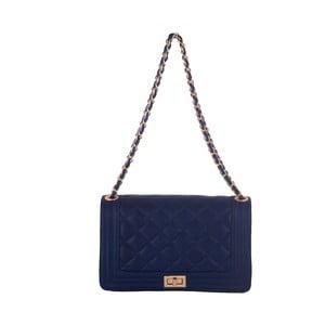 Niebieska torebka skórzana Andrea Cardone Debora