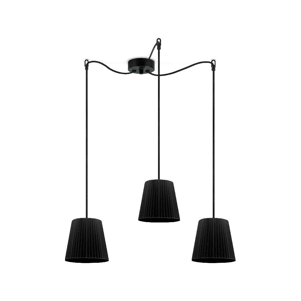 Czarna lampa wisząca Sotto Luce KAMI Elementary S 3S