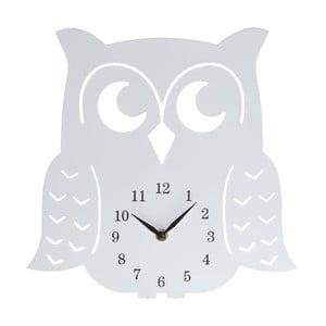 Zegar drewniany Clock Owl, 30 cm