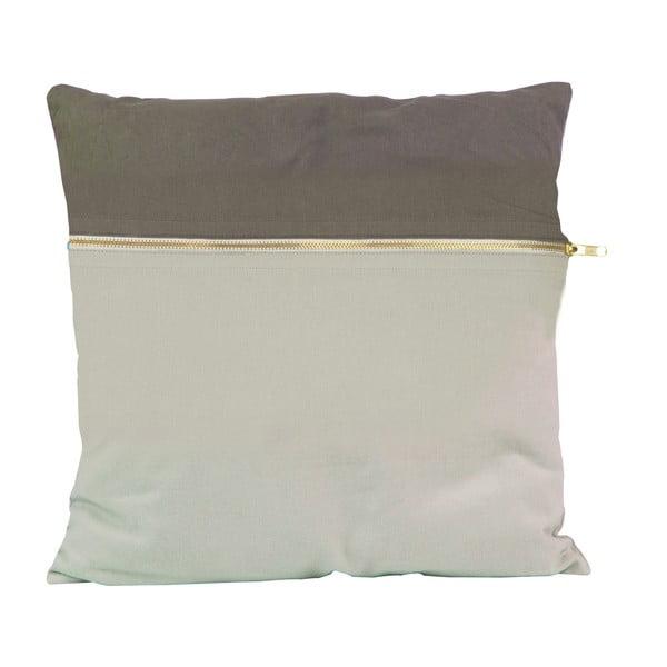 Poduszka PT LIVING Duo Grey, 45x45 cm
