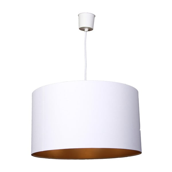 Lampa sufitowa Gold Inside Three White