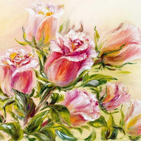 Obraz Róża to szczęście, 60x60 cm