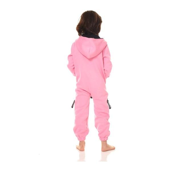 Różowy dziecięcy kombinezon domowy Streetfly, 8-9 lat