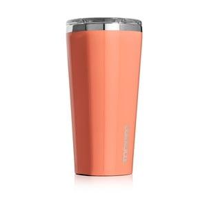 Pomarańczowy kubek termiczny Corkcicle Tumbler, 260 ml