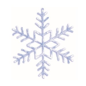 Świecąca gwiazda Best Season Snowflake Greyo, Ø 100 cm