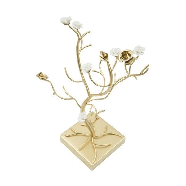 Stojak na biżuterię z żelaza w złotym kolorze Mauro Ferretti Bigioterra