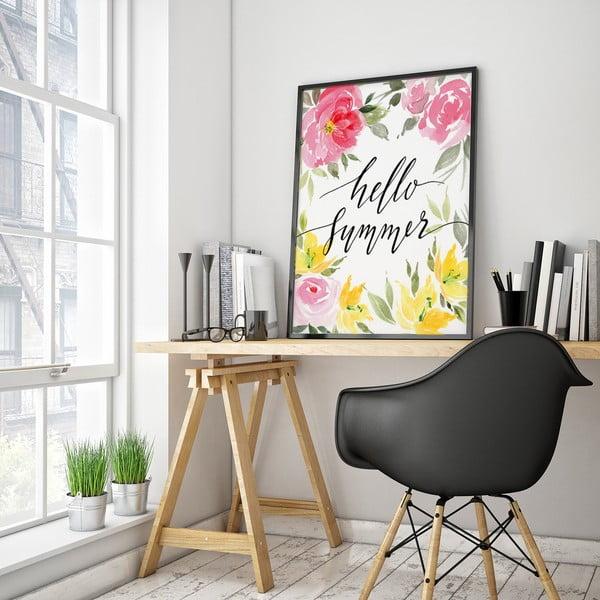 Plakat Hello Summer, 30 x 40 cm