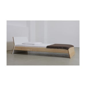 Łóżko z drewna jesionowego Ellenberger design Private Space,100x200cm