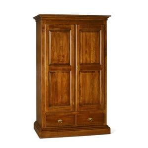 Drewniana szafa 2-drzwiowa Castagnetti Noce
