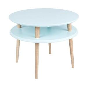 Stolik kawowy UFO 45x57 cm, jasnoniebieski