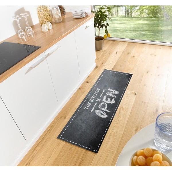 Szary chodnik kuchenny Hans Home Open Kitchen, 50x150 cm