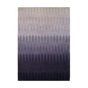 Wełniany dywan Acacia Purple, 140x200 cm