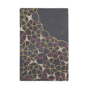 Dywan Spectrum Grey Yellow Pink, 150x230 cm