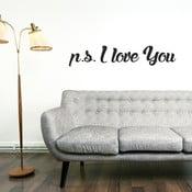 Naklejka ścienna P.S. I Love You