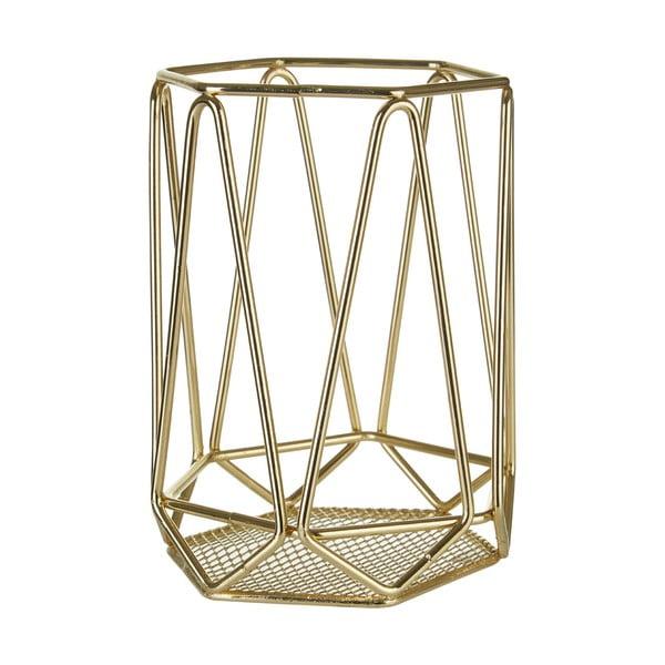 Złoty koszyk na chochle Premier Housewares Vertex