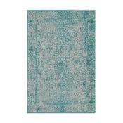 Niebiesko-zielony dywan wełniany Canada, 160x230 cm