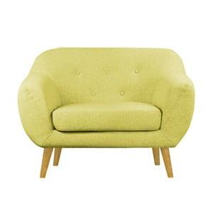 Żółty fotel Helga Interiors Oslo