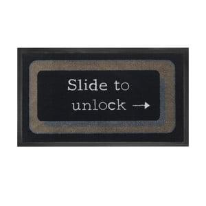 Wycieraczka Slide to unlock, 45x75 cm