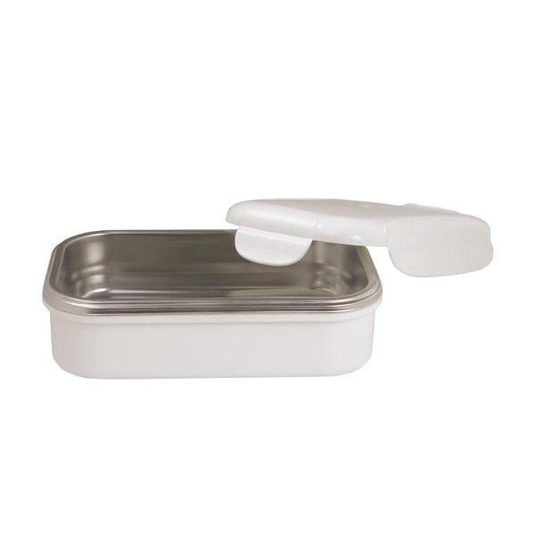 Biały pojemnik termiczny na obiad Pioneer lunchbox