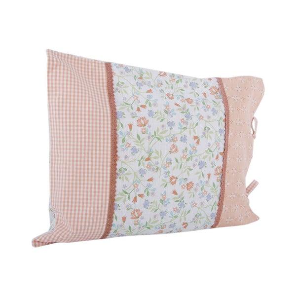 Poszewka na poduszkę Botanice 50x60 cm, różowa