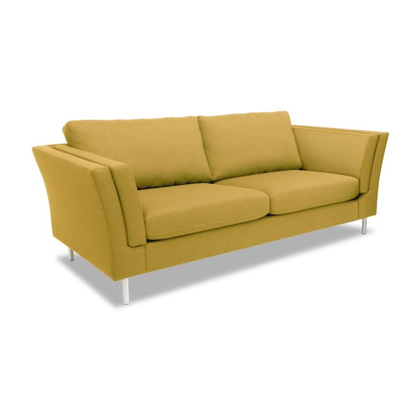 Żółta sofa dwuosobowa VIVONITA Connor