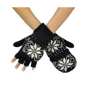 Czarne rękawiczki Lisa