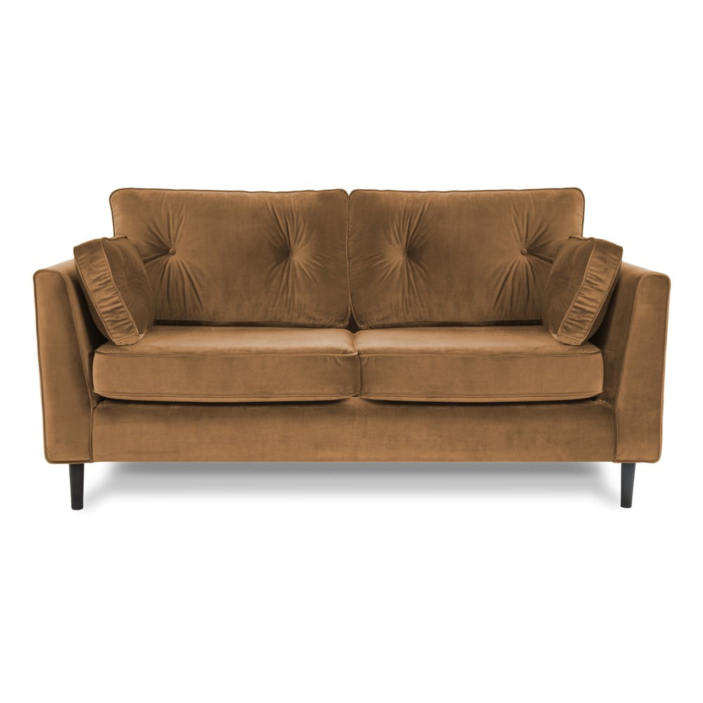 Brązowa sofa 3-osobowa Vivonita Portobello