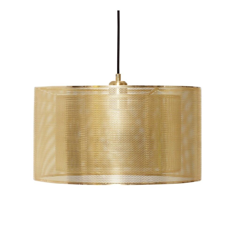 Lampa wisząca w kolorze złota Hübsch Karimo