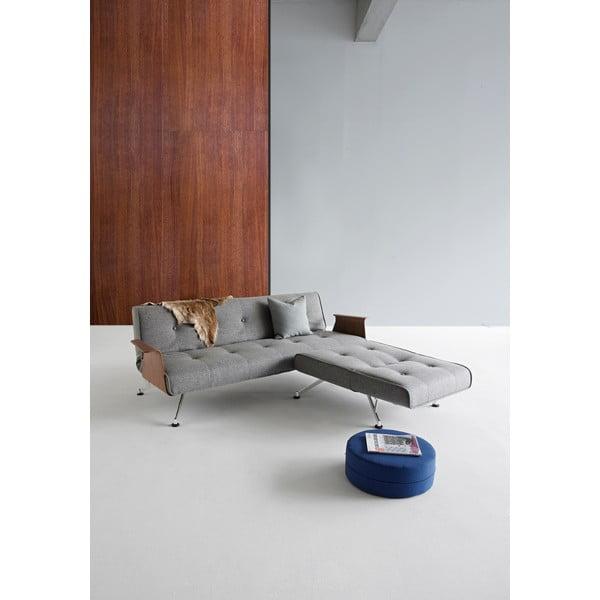 Szara sofa rozkładana Innovation Clubber Sofa