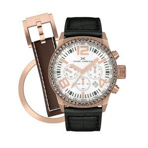 Zegarek damski Marc Coblen z dodatkowym paskiem i obręczą P55