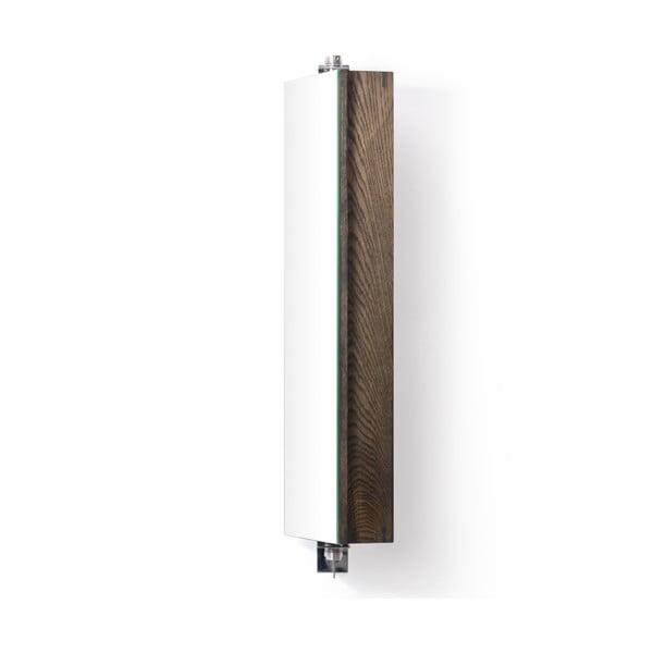 Obracane lustro z szafką Wireworks Mezza Dark, 71 cm