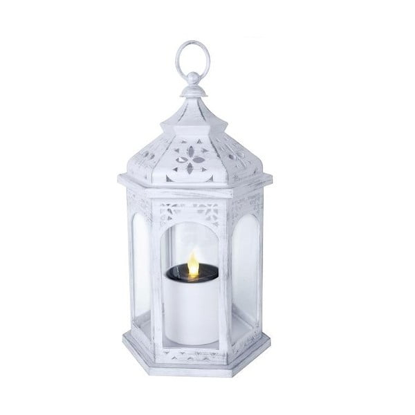 Lampion LED Candle, biały