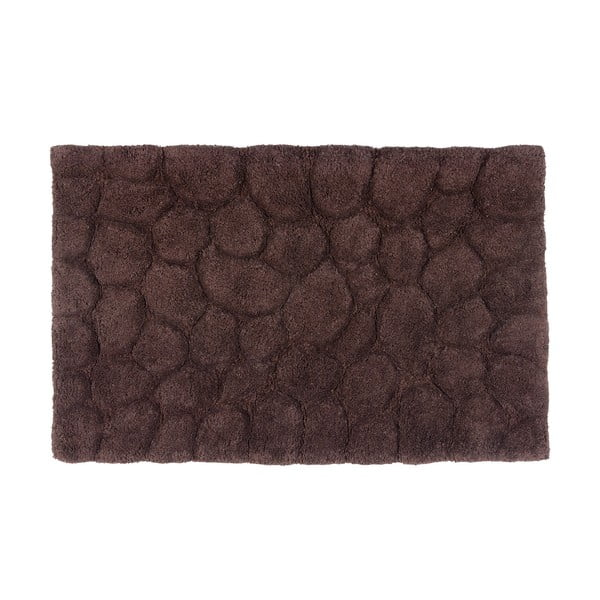Bawełniany dywanik łazienkowy Brown, 50x80 cm